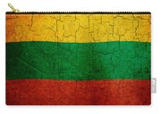Grunge Lithuania Flag Carry-all Pouch