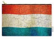 Grunge Luxembourg Flag Carry-all Pouch