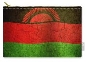 Grunge Malawi Flag Carry-all Pouch