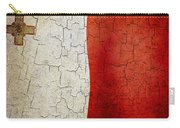 Grunge Malta Flag Carry-all Pouch