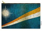 Grunge Marshall Islands Flag Carry-all Pouch