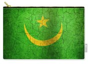 Grunge Mauritania Flag Carry-all Pouch