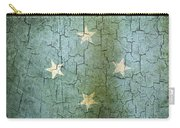 Grunge Micronesia Flag Carry-all Pouch