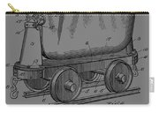 Grunge Mine Trolley Patent Carry-all Pouch