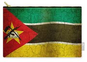 Grunge Mozambique Flag Carry-all Pouch