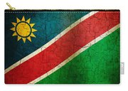 Grunge Namibia Flag Carry-all Pouch