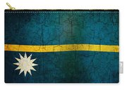 Grunge Nauru Flag Carry-all Pouch