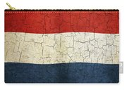 Grunge Netherlands Flag Carry-all Pouch