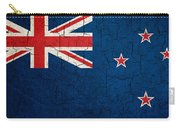 Grunge New Zealand Flag Carry-all Pouch