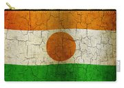 Grunge Niger Flag Carry-all Pouch