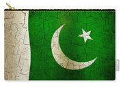 Grunge Pakistan Flag Carry-all Pouch