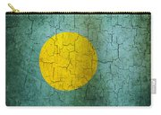 Grunge Palau Flag Carry-all Pouch