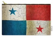 Grunge Panama Flag Carry-all Pouch