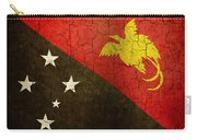 Grunge Papua New Guinea Flag Carry-all Pouch