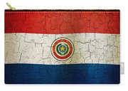 Grunge Paraguay Flag Carry-all Pouch