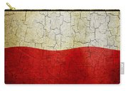 Grunge Poland Flag Carry-all Pouch