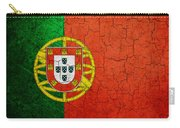 Grunge Portugal Flag Carry-all Pouch