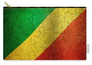 Grunge Republic Of The Congo Flag Carry-all Pouch