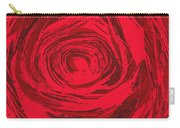 Grunge Rose Carry-all Pouch