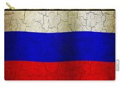 Grunge Russia Flag Carry-all Pouch