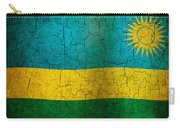 Grunge Rwanda Flag Carry-all Pouch