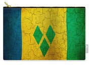 Grunge Saint Vincent And The Grenadines Flag Carry-all Pouch