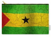 Grunge Sao Tome And Principe Flag Carry-all Pouch
