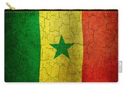 Grunge Senegal Flag Carry-all Pouch