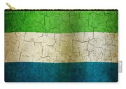 Grunge Sierra Leone Flag Carry-all Pouch