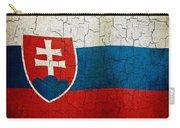 Grunge Slovakia Flag Carry-all Pouch