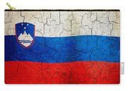 Grunge Slovenia Flag Carry-all Pouch