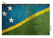 Grunge Solomon Islands Flag Carry-all Pouch