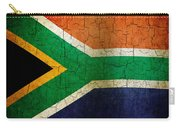 Grunge South Africa Flag Carry-all Pouch