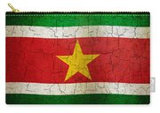 Grunge Suriname Flag Carry-all Pouch