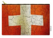 Grunge Switzerland Flag Carry-all Pouch