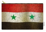 Grunge Syria Flag Carry-all Pouch