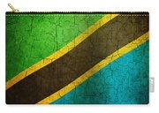 Grunge Tanzania Flag Carry-all Pouch