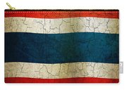 Grunge Thailand Flag Carry-all Pouch