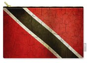 Grunge Trinidad And Tobago Flag Carry-all Pouch