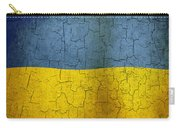 Grunge Ukraine Flag Carry-all Pouch