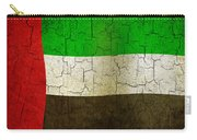 Grunge United Arab Emirates Flag Carry-all Pouch