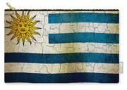 Grunge Uruguay Flag Carry-all Pouch
