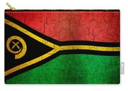 Grunge Vanuatu Flag Carry-all Pouch