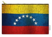 Grunge Venezuela Flag Carry-all Pouch