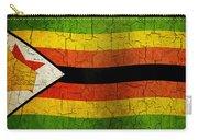 Grunge Zimbabwe Flag Carry-all Pouch