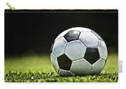 Grungy Grainy Soccer Ball E64 Carry-all Pouch