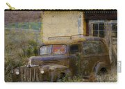Grungy Vintage Ford Panel Truck Carry-all Pouch