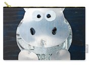Grunt The Hippo License Plate Art Carry-all Pouch