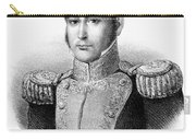 Guadalupe Victoria (1789-1843) Carry-all Pouch