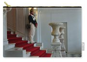 Guard At Catherine Palace In Russia Carry-all Pouch